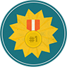 winner badge